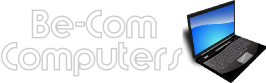 Logo For Be-Com  Computer Repair
